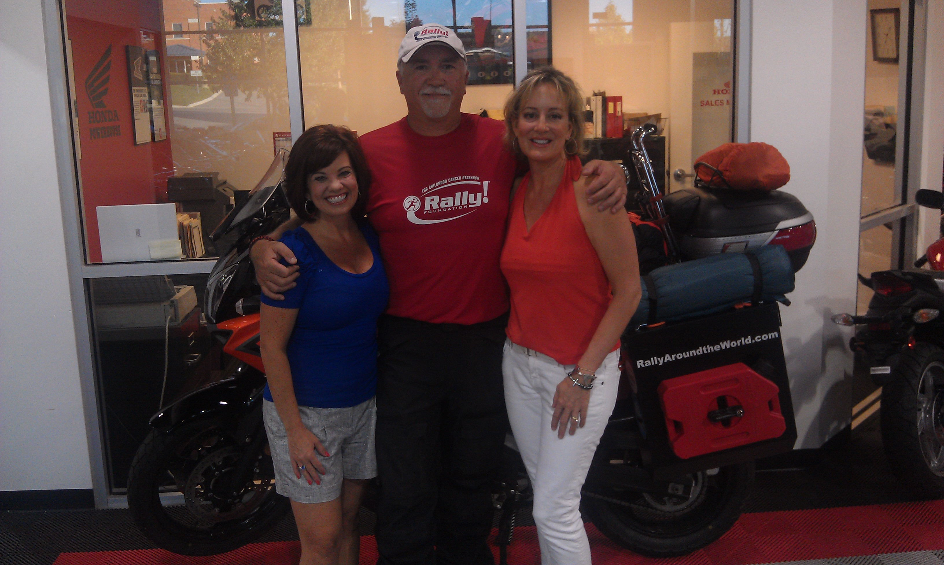 Cool Springs Powersports Rally Around The World